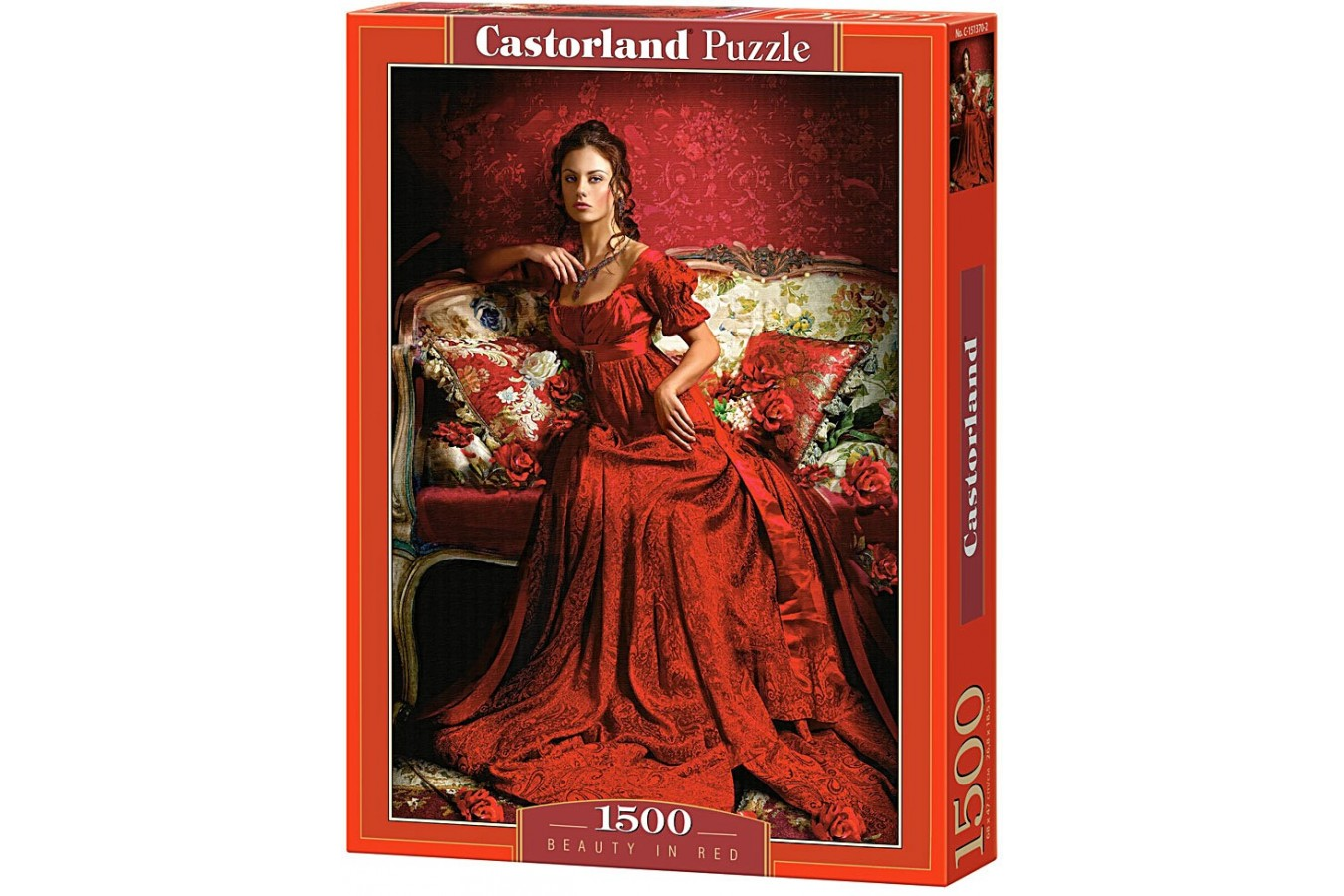 Puzzle Castorland - Beauty in Red, 1500 piese