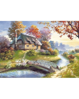 Puzzle Castorland - Cottage, 1500 piese