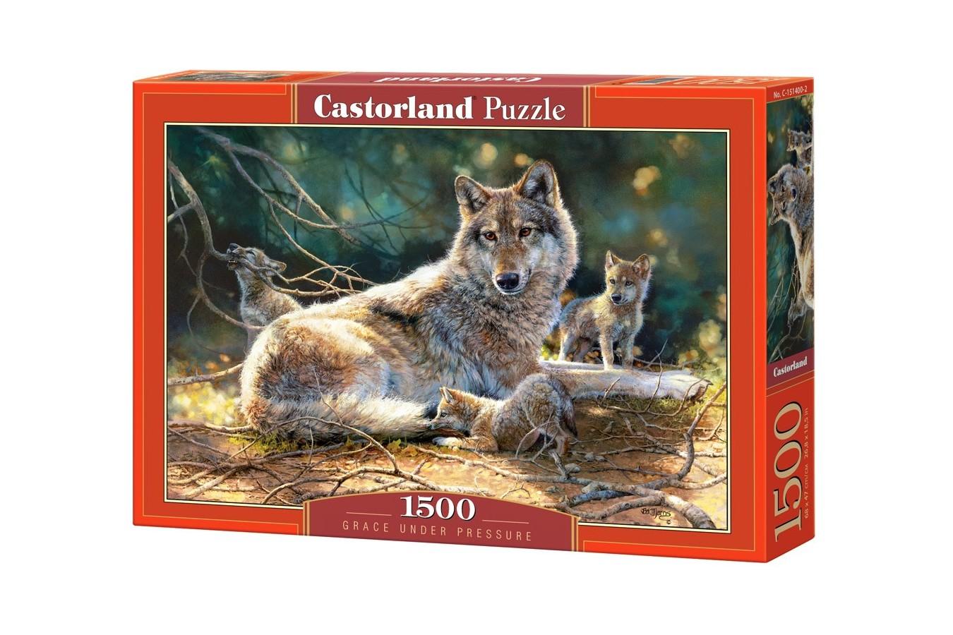 Puzzle Castorland - Grace under Pressure, 1500 piese