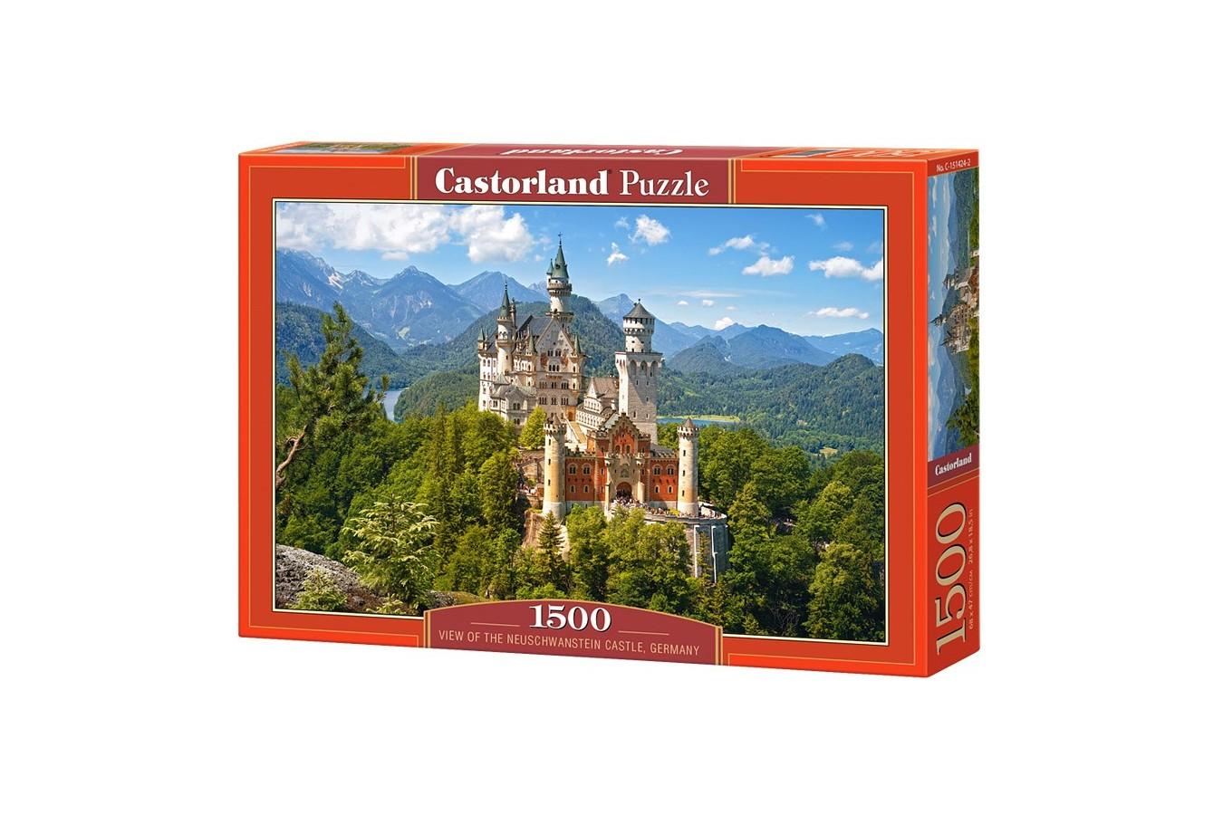 Puzzle Castorland - Neuschwanstein Castle, 1500 piese