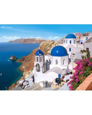 Puzzle Castorland - Santorini Greece, 1500 piese