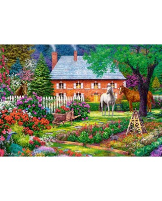 Puzzle Castorland - The Sweet Garden, 1500 piese