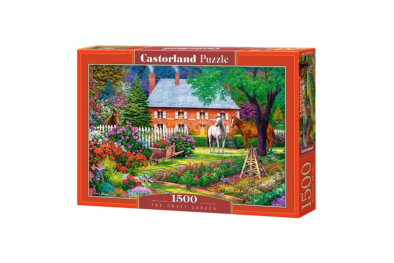 Puzzle Castorland - The Sweet Garden, 1500 piese