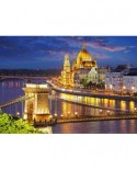 Puzzle Castorland - Budapest View at Dusk, 2000 piese