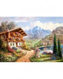 Puzzle Castorland - Copy of High Country Retreat, 2000 piese