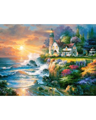Puzzle Castorland - Twilight Beacon, 2000 piese