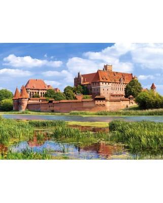 Puzzle Castorland - Malbork Poland, 3000 piese