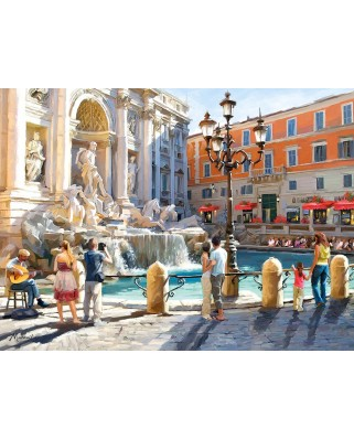 Puzzle Castorland - The Trevi Fountain, 3000 piese