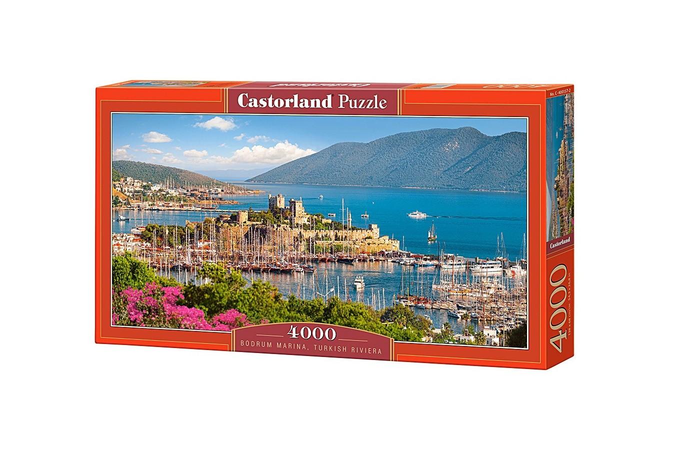 Puzzle Castorland - Bodrum Marina Turkish Riviera, 4000 piese
