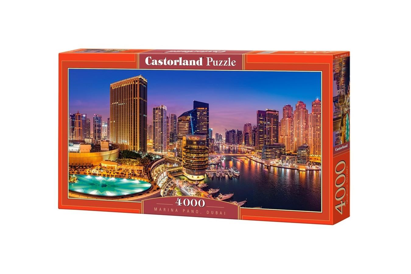 Puzzle Castorland - Marina Pano, 4000 piese