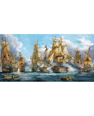 Puzzle Castorland - Naval Battle, 4000 piese