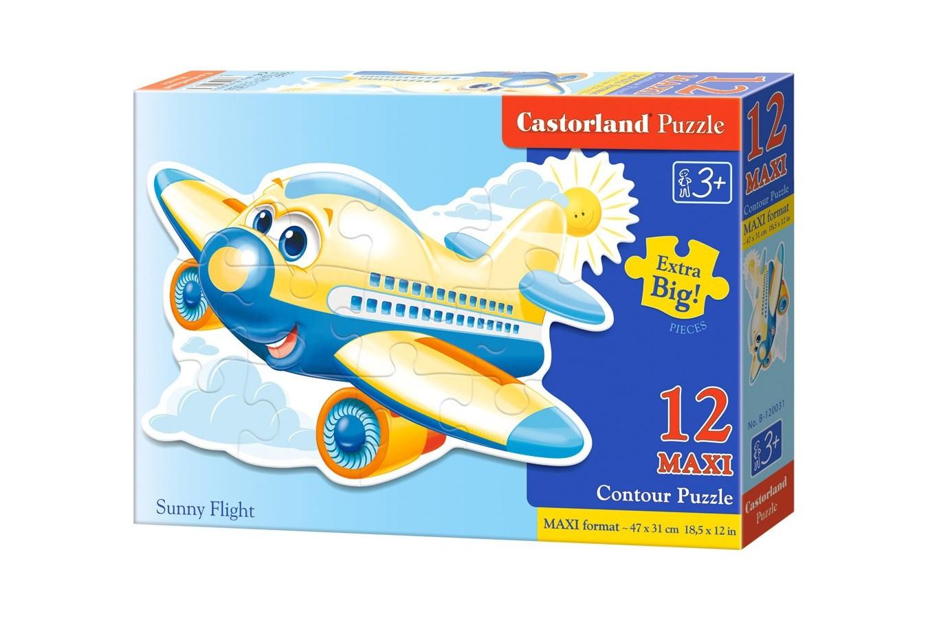 Puzzle Castorland Maxi - Sunny Flight, 12 Piese