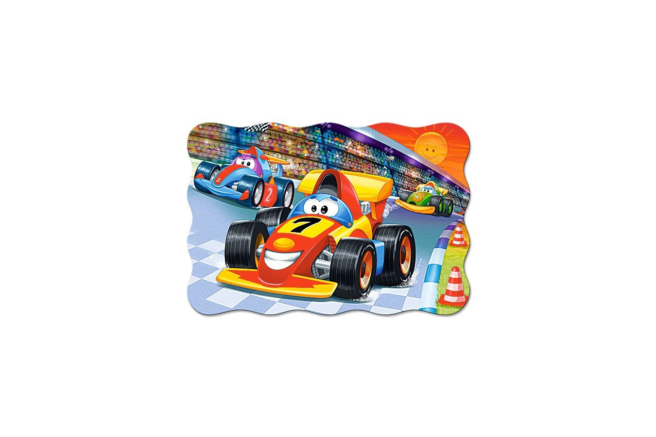 Puzzle Castorland Maxi - Racing Action, 20 Piese