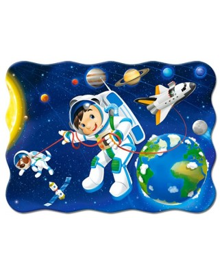 Puzzle Castorland - Space Walk, 30 Piese