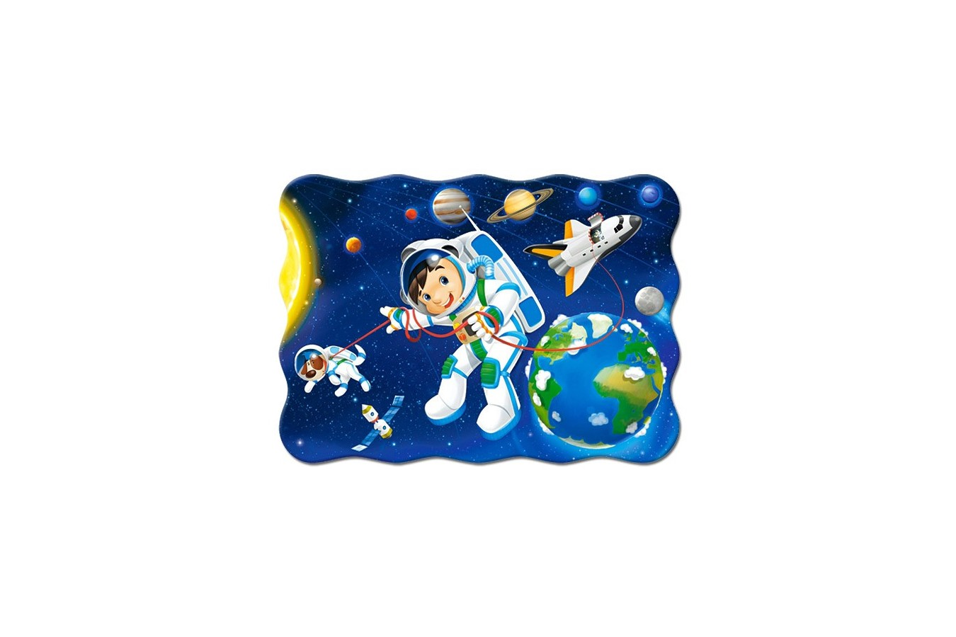 Puzzle Castorland - Space Walk, 30 Piese
