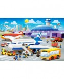 Puzzle Castorland Maxi - A Day At The Airport, 40 Piese