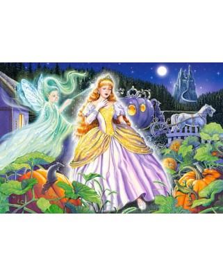 Puzzle Castorland Maxi - Cinderella, 40 Piese