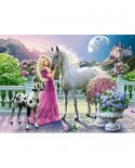Puzzle Castorland - My Friend Unicorn, 300 Piese