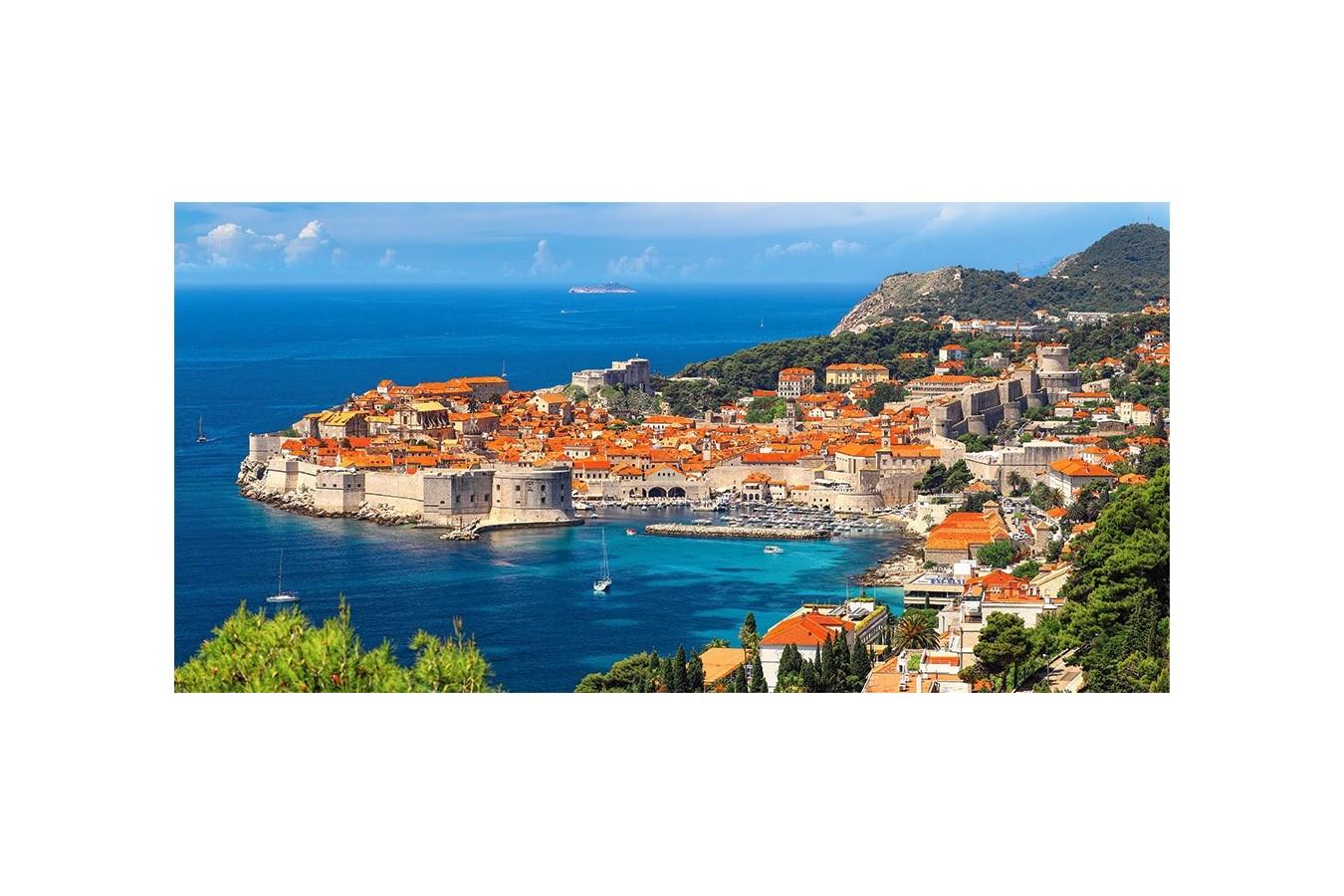 Puzzle Castorland - Dubrovnik Croatia, 4000 Piese