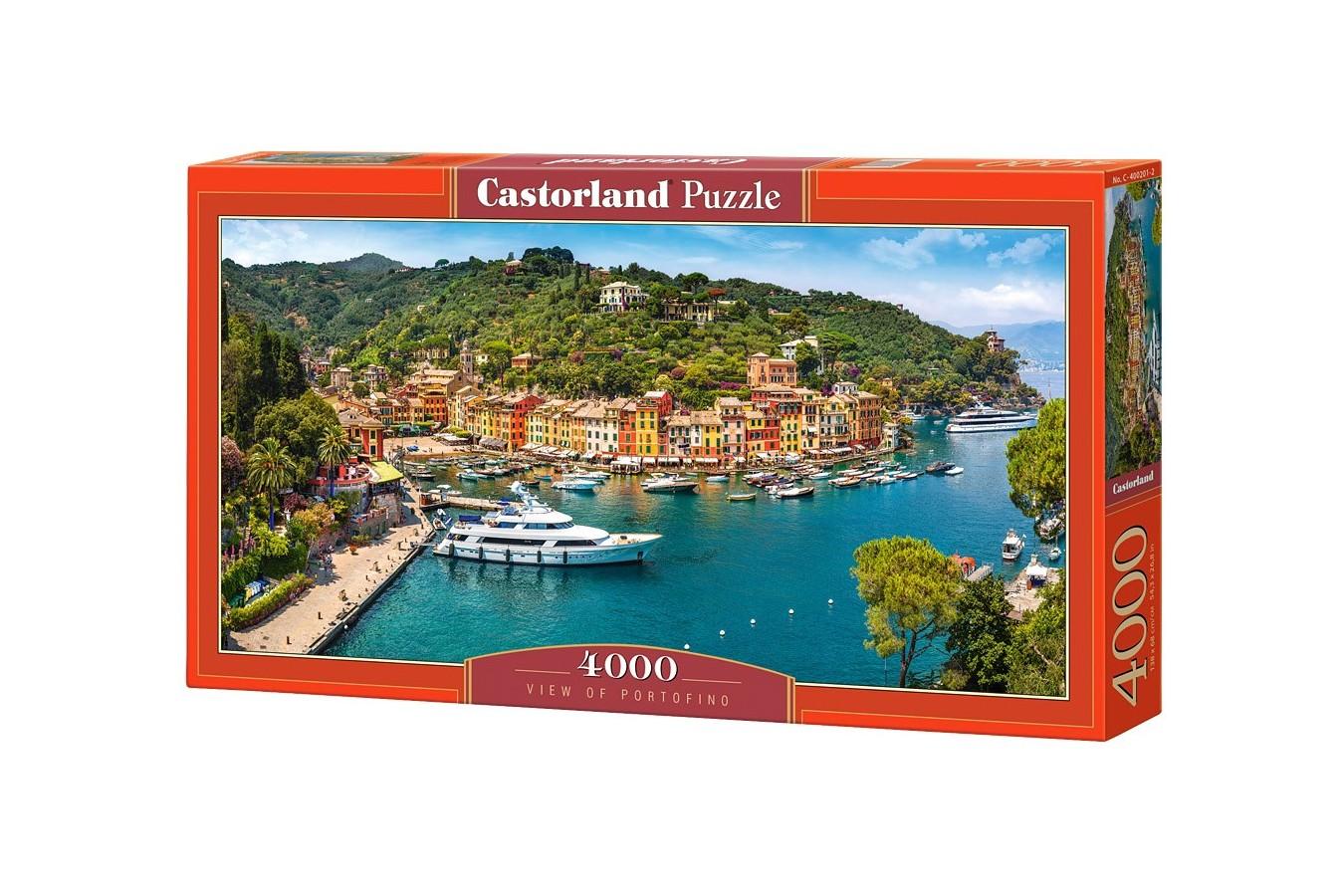 Puzzle Castorland - View Of Portofino, 4000 Piese