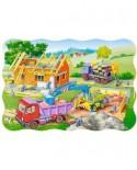 Puzzle Castorland - Building a House, 30 piese