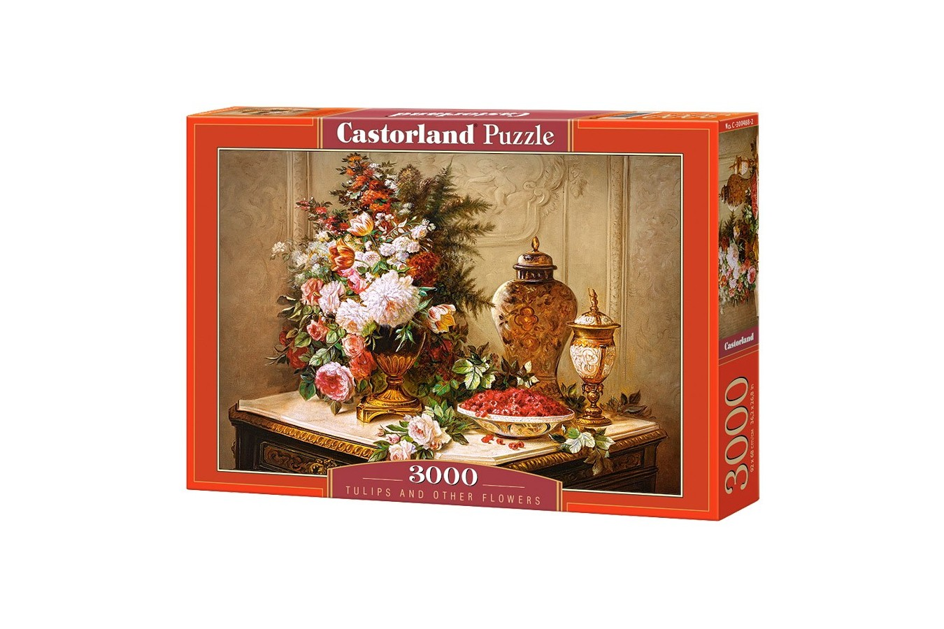 Puzzle Castorland - Tulips and other flowers, 3000 piese
