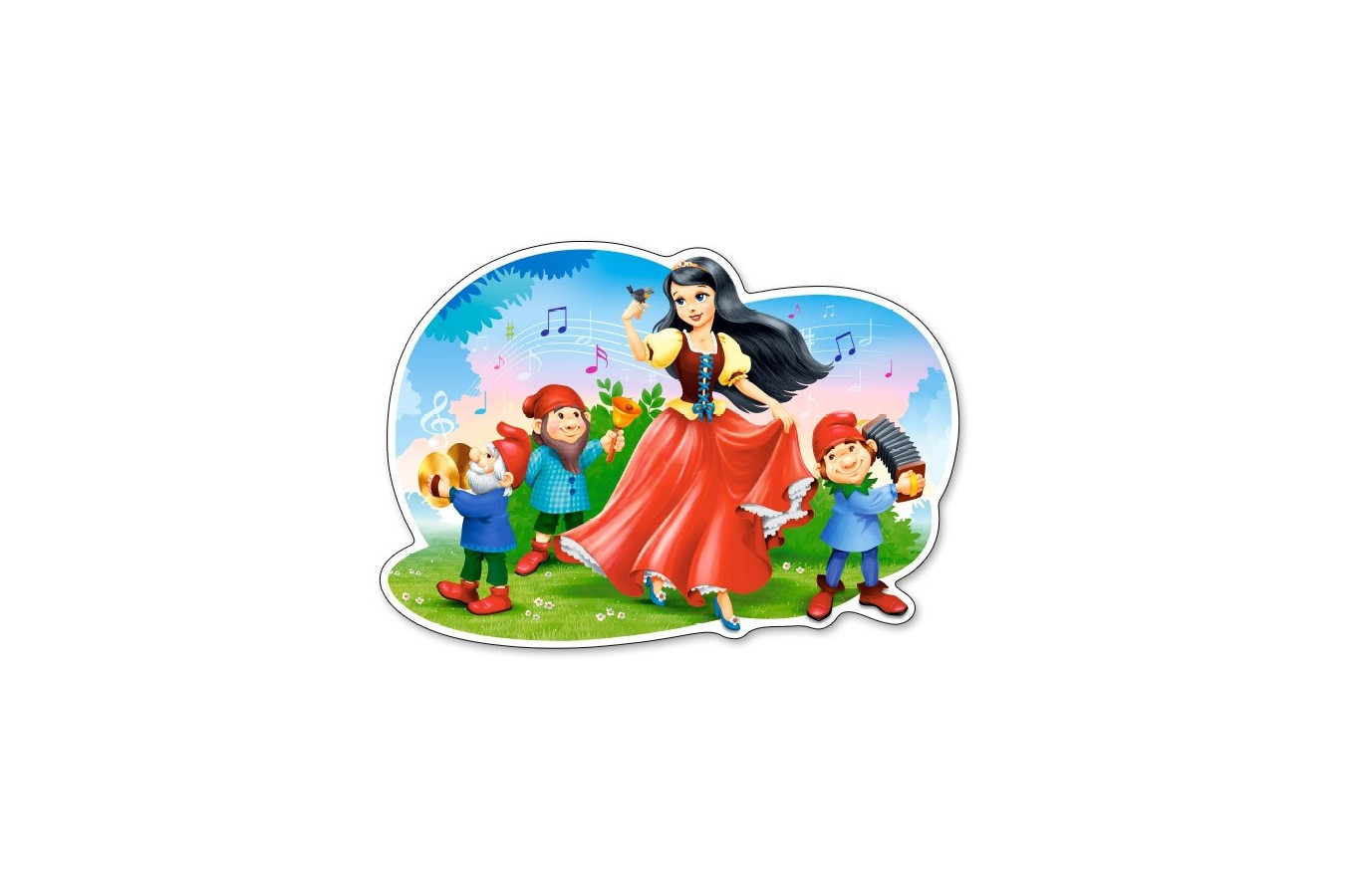 Puzzle Castorland - Snow White Song, 12 piese MAXI