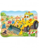 Puzzle Castorland - Buldozer in action, 20 piese MAXI