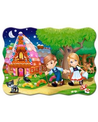 Puzzle Castorland - Hansel si Gretel, 30 piese