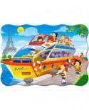 Puzzle Castorland - Paris Boat Tour, 30 piese