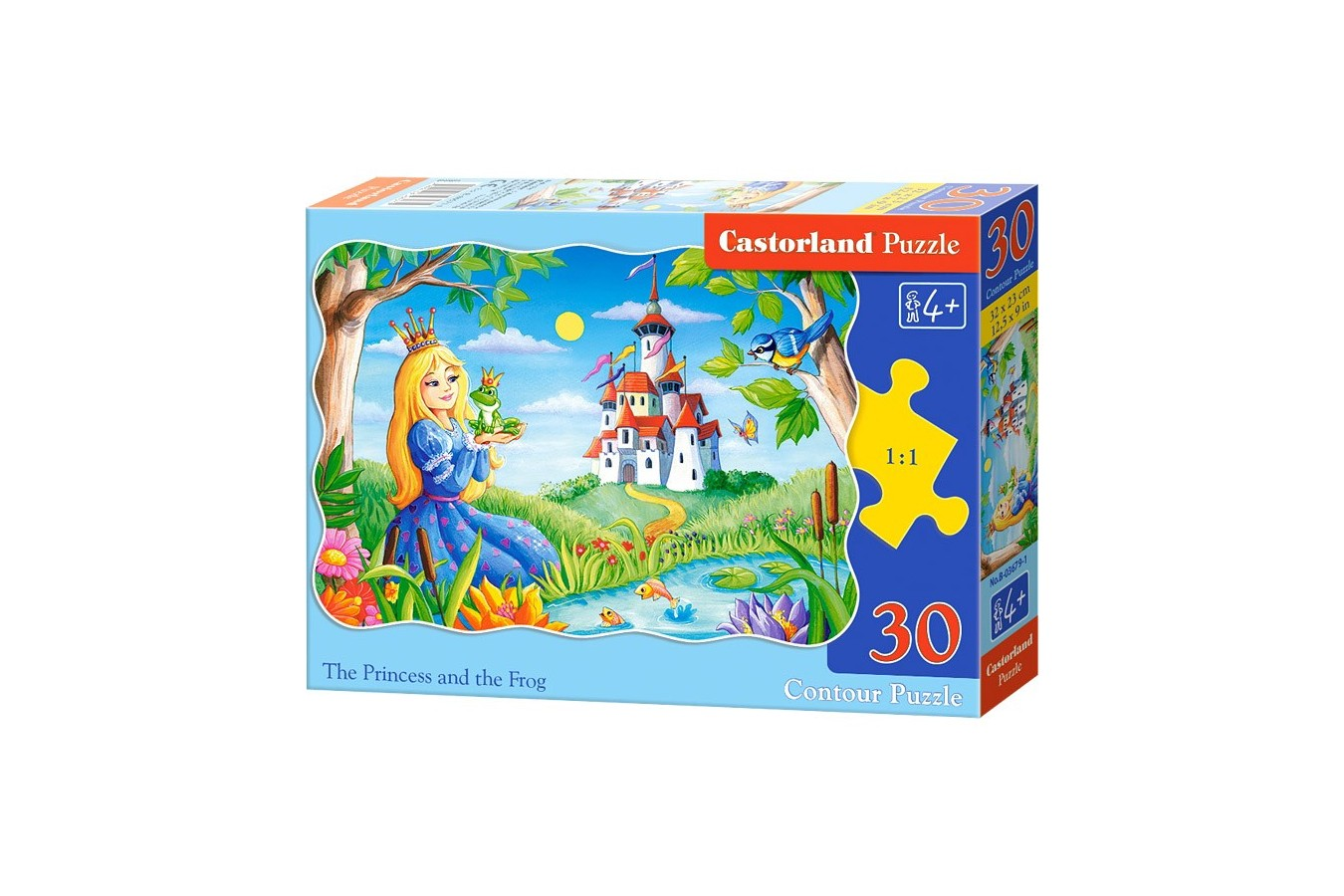 Puzzle Castorland - The Princess and the Frog, 30 piese