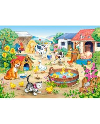 Puzzle Castorland - Farm, 60 piese