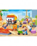 Puzzle Castorland - Funny Construction Site, 60 piese
