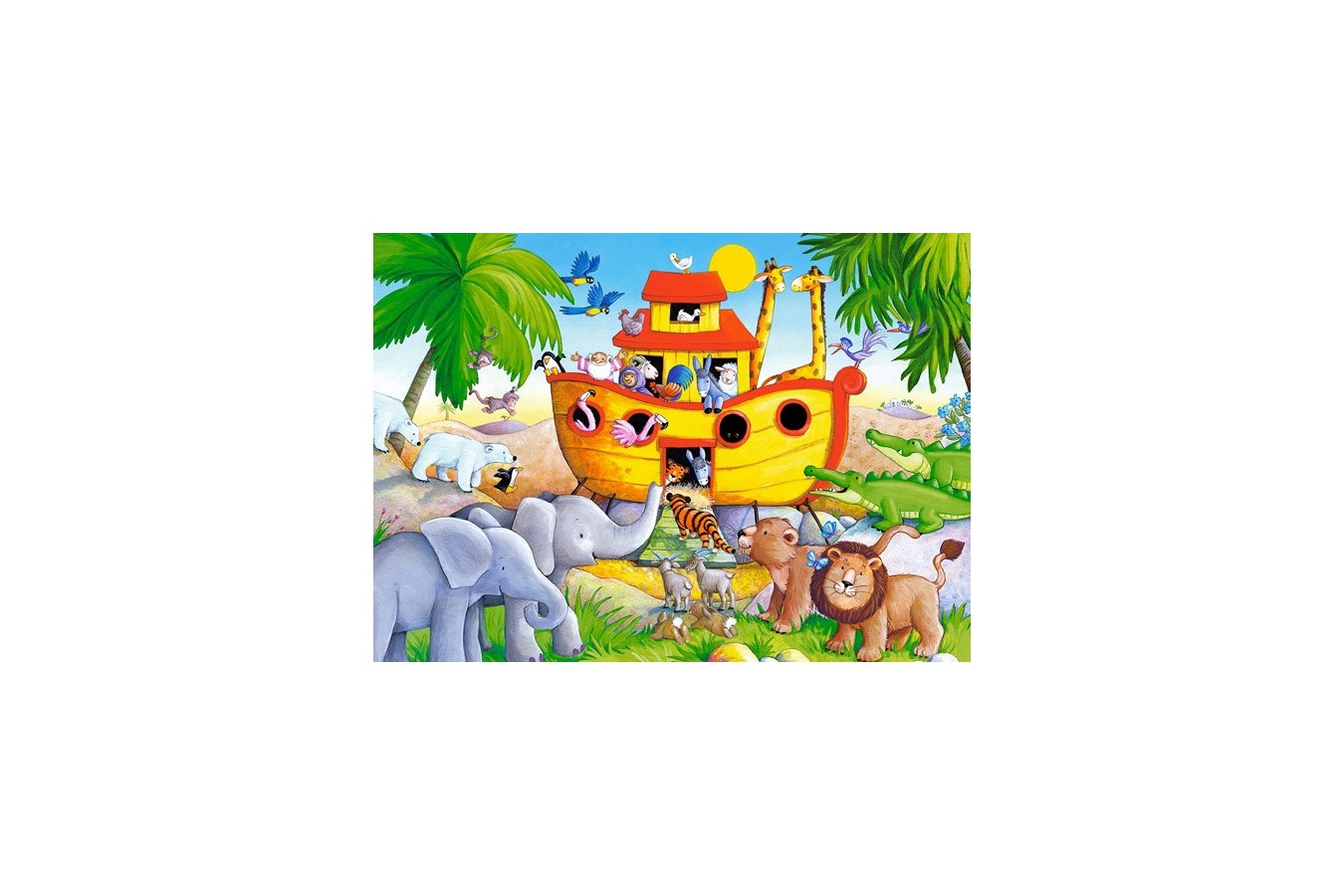 Puzzle Castorland - Noahs Ark, 60 piese