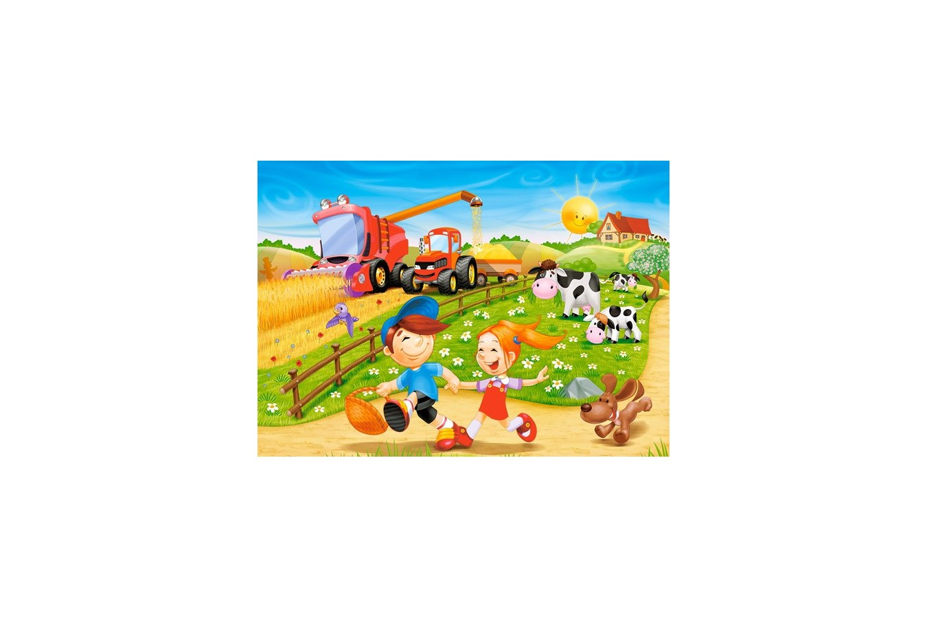 Puzzle Castorland - Summer in the Countryside, 60 piese