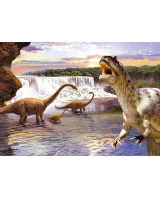 Puzzle Castorland - Diplodocus, 260 piese