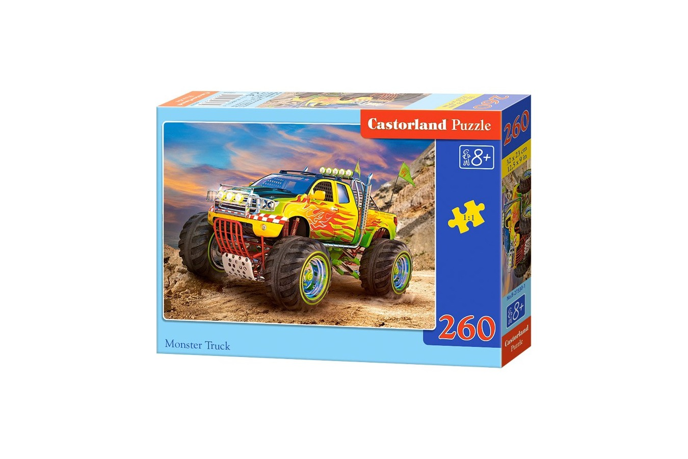 Puzzle Castorland - Monster Truck, 260 piese