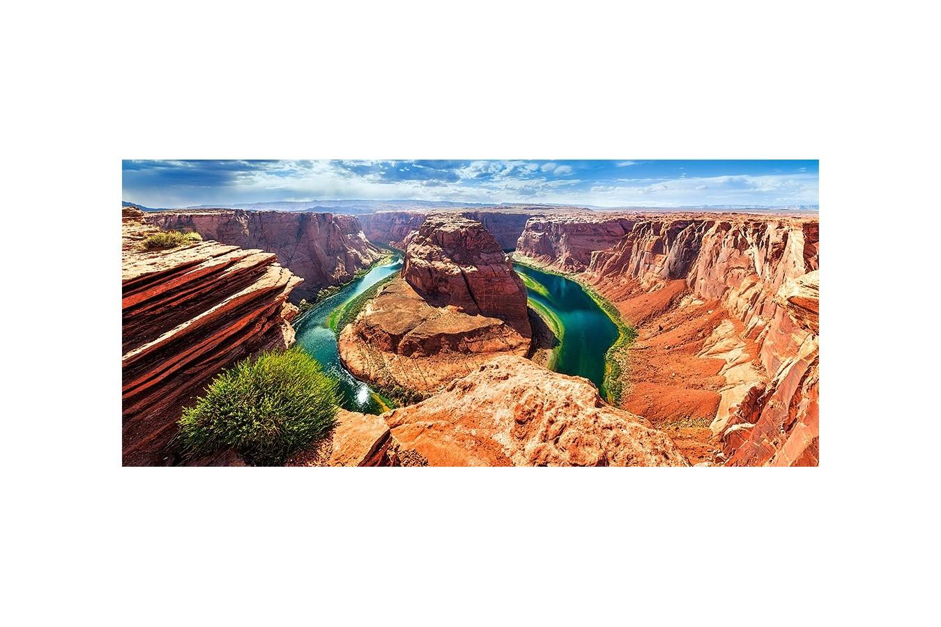 Puzzle Panoramic Castorland - Horseshoe Bend, Arizona, 600 piese