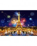 Puzzle Castorland - Glamour of the Night Paris, 1000 piese