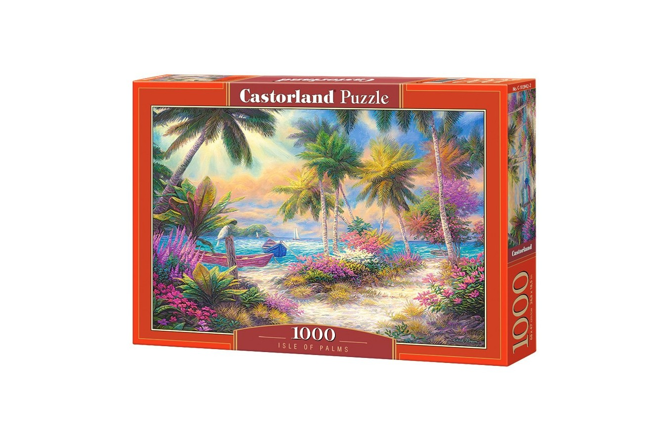 Puzzle Castorland - Isle of Palms, 1000 piese