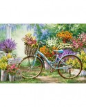 Puzzle Castorland - The Flower Mart, 1000 piese