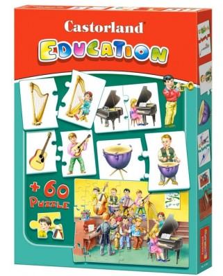 Puzzle Castorland Educativ - Instruments