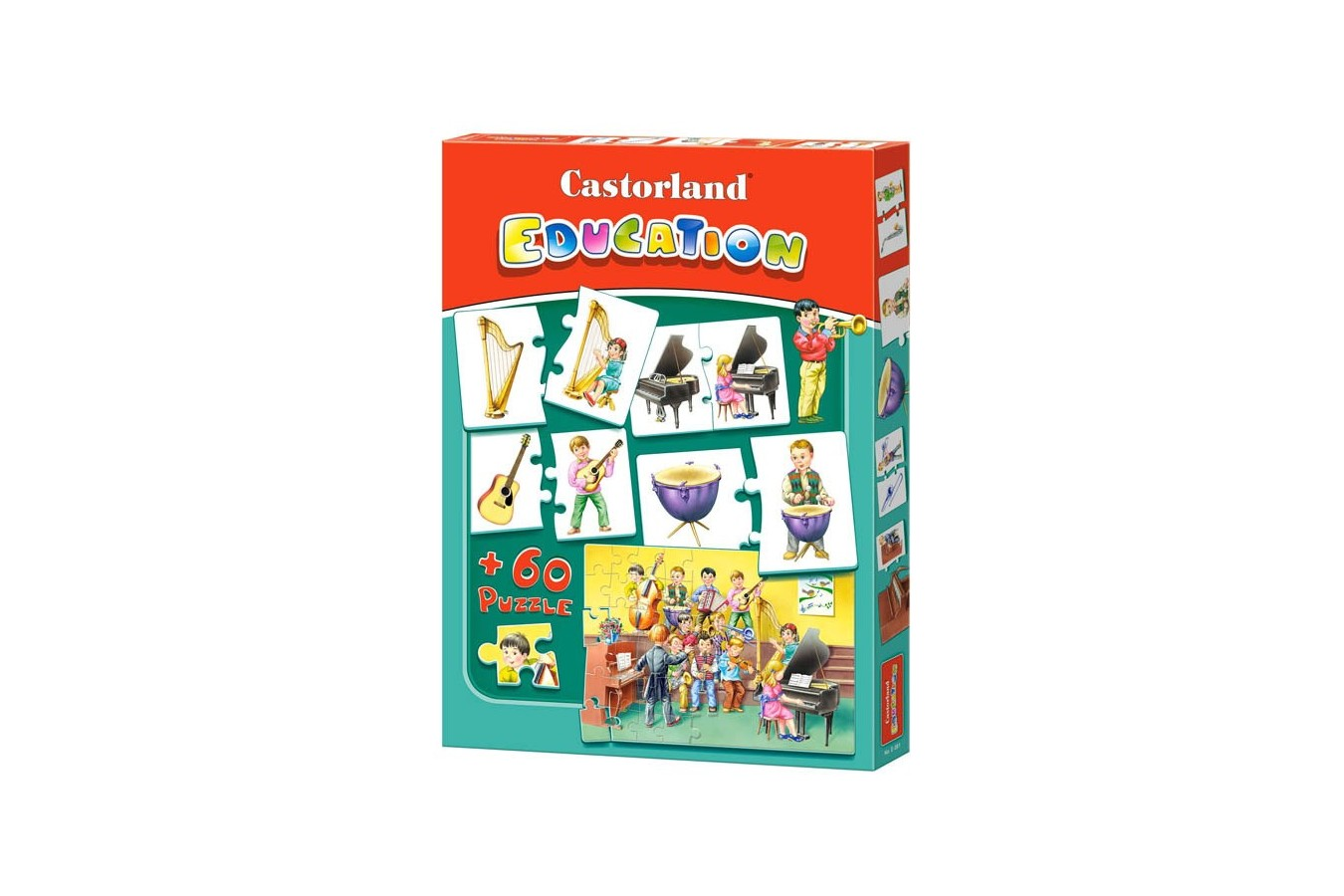 Puzzle Castorland Educativ - Instruments
