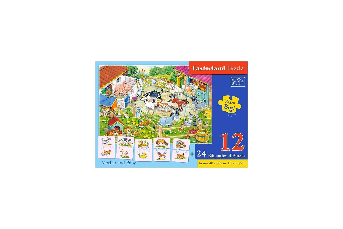 Puzzle Castorland Educativ - Mama Si Copilul