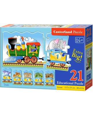 Puzzle Castorland Educativ - Train