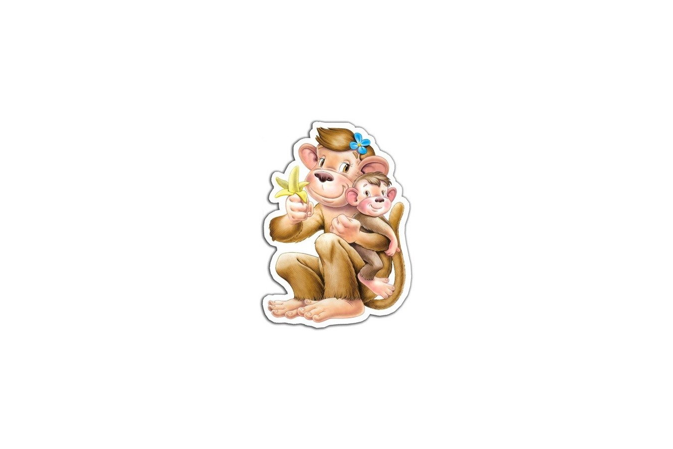 Puzzle Castorland - 4 in 1 Jungle Babies, 4/5/6/7 piese