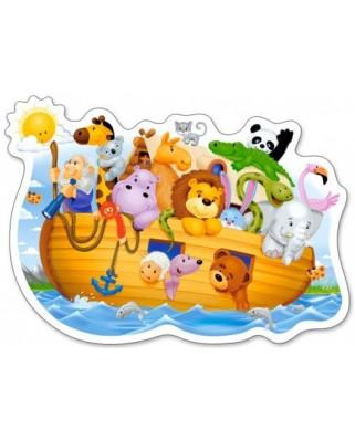Puzzle Castorland - Midi Noah's Ark, 15 piese