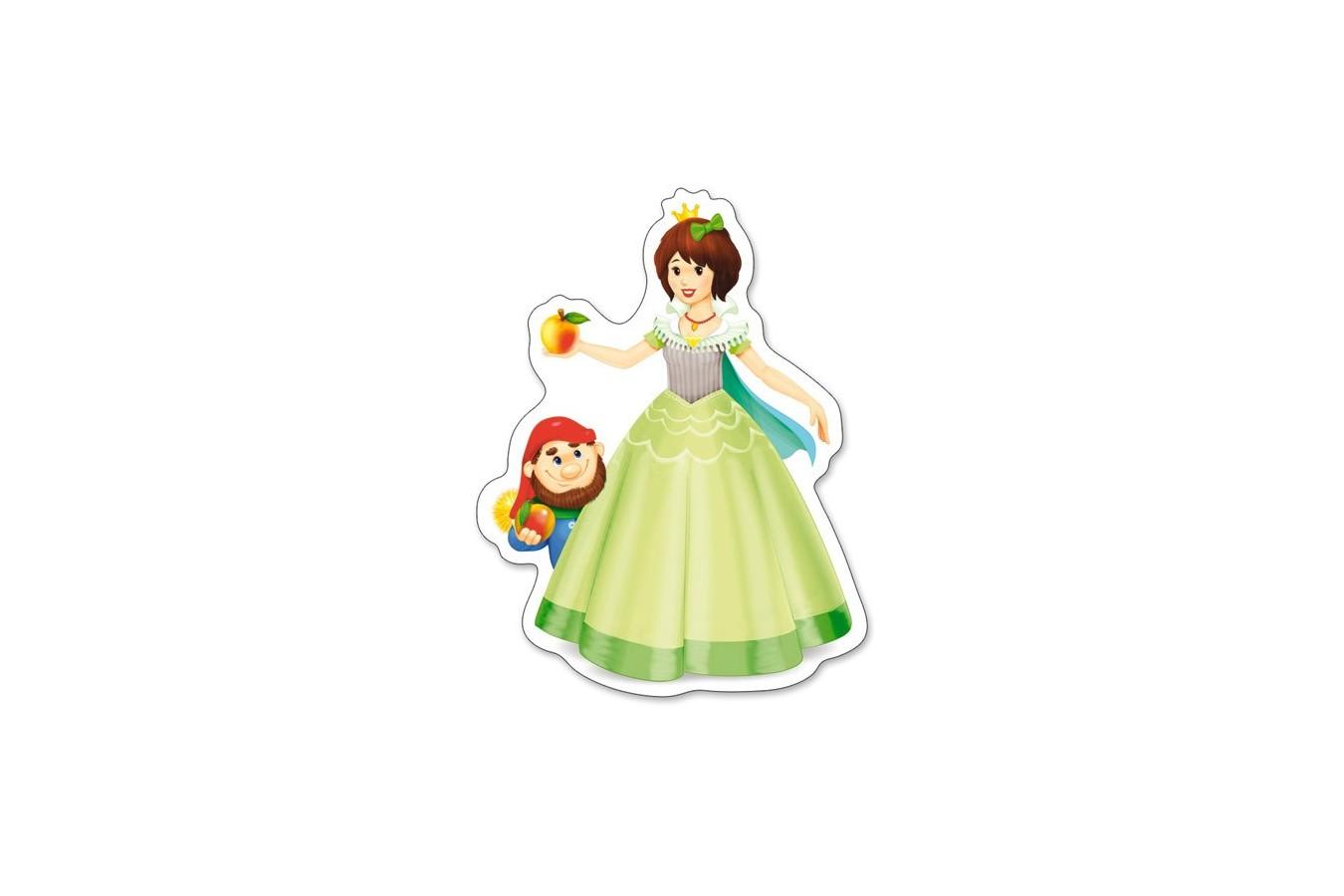 Puzzle Castorland 4 in 1 - Pretty Princesses, 4/5/6/7 Piese
