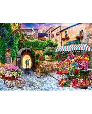 Puzzle Anatolian - Jason Taylor: Flower Market, 1.000 piese (ANA.1066)