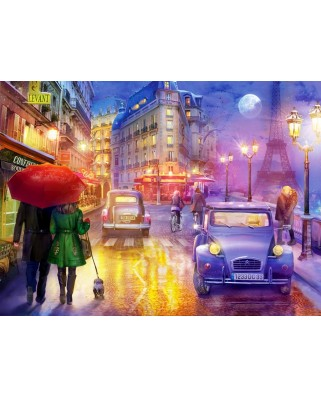 Puzzle Anatolian - Lilia : Paris At Night, 1.000 piese (ANA.1070)